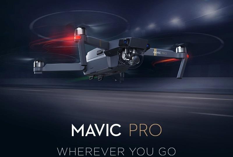 بررسی تخخصی کوادکوپتر DJI Mavic pro ( دی جی ای ماویک پرو )