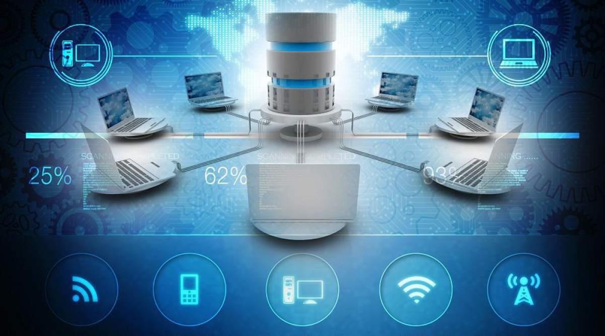 سانترال بر بستر شبکه ((IP PBX