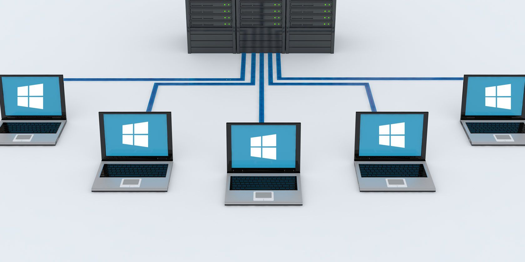 دامنه ی ویندوز (Windows Domain) کلاینت-سرور