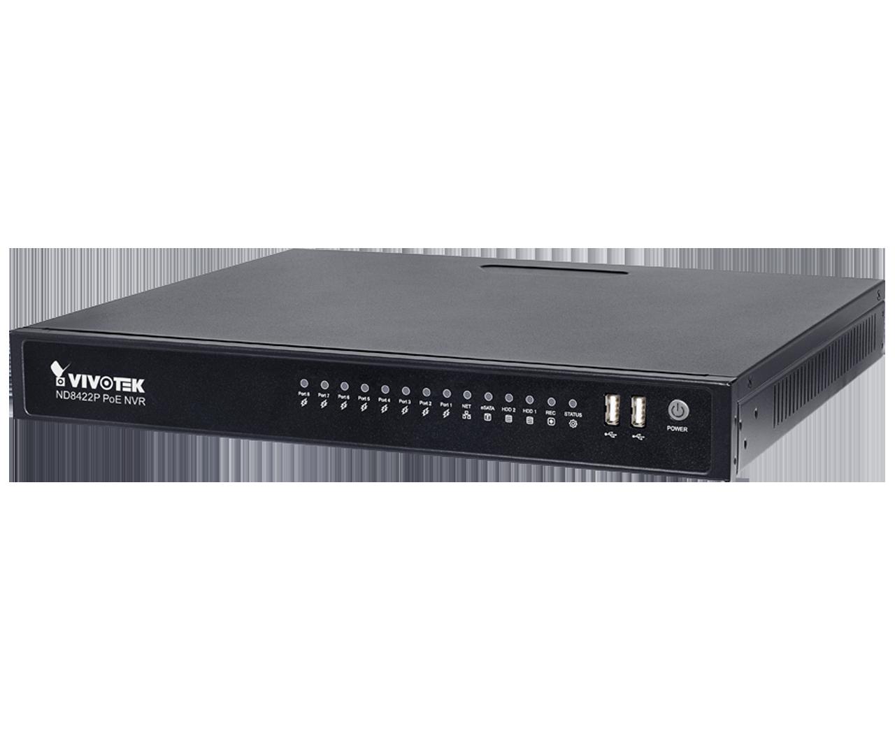 ND8422P 16-CH Embedded PoE NVR