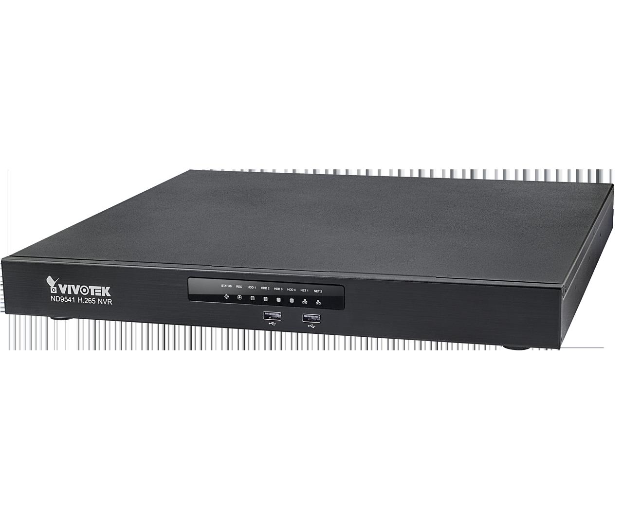 ND9541 H.265 32-CH Embedded NVR